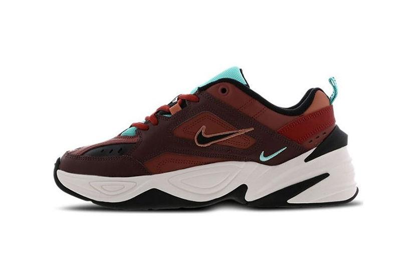 be3c119c Кроссовки Nike M2K Tekno бордовые-(35-44) — купить в Новосибирске ...